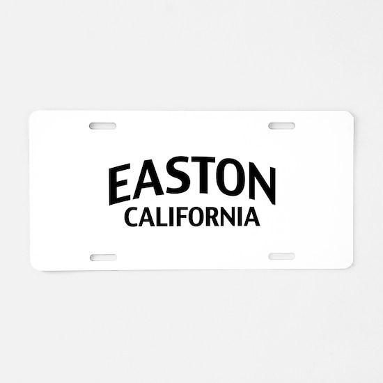 Easton California Aluminum License Plate