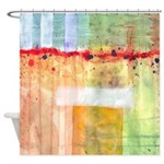 Colorfields Abstract Shower Curtain