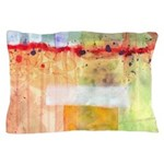 Colorfields Abstract Pillow Case