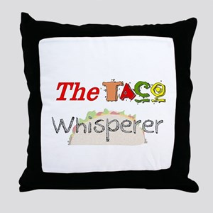 Food Love Whisperers Throw Pillow