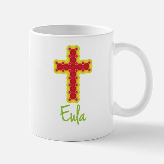 Eula Bubble Cross Mug