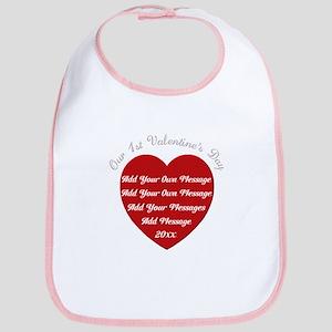 Our 1st Valentine's Day Bib