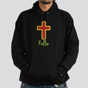 Kellie Bubble Cross Hoodie (dark)