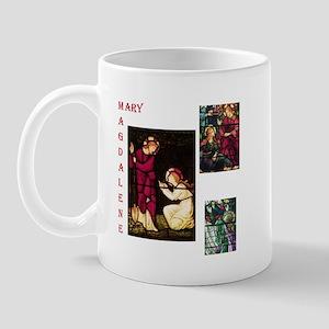 Mary Magdalene Stained Glass  Mug
