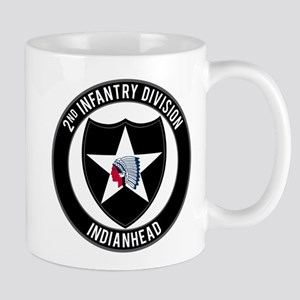 "2nd ID ""Indianhead"" Mug"