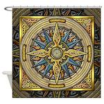 Celtic Compass Shower Curtain