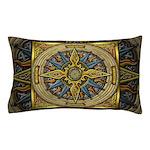 Celtic Compass Pillow Case