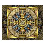 Celtic Compass King Duvet Cover