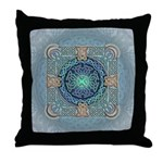 Celtic Eye of the World Throw Pillow