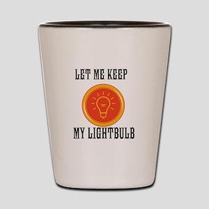 Lightbulb Shot Glass