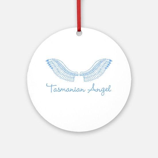 Tasmanian Angel Ornament (Round)