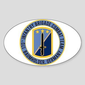 170th IBCT Baumholder Sticker (Oval)