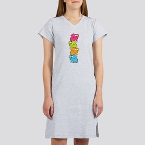 Cute elephants Women's Nightshirt
