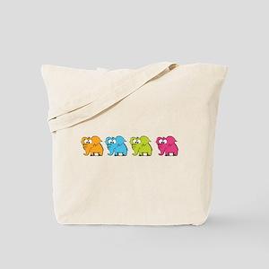 Cute elephants Tote Bag