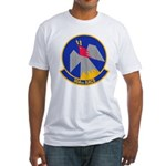 964th AACS Fitted T-Shirt