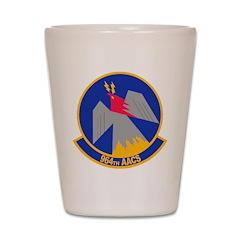 964th AACS Shot Glass