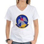 964th AACS Women's V-Neck T-Shirt