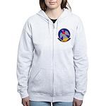 964th AACS Women's Zip Hoodie