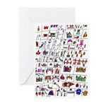 Harry Potter's Adventures Greeting Cards (Pk of 20