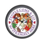 People Come and Go Wall Clock
