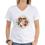 People Come and Go Women's V-Neck T-Shirt