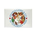 People Come and Go Rectangle Magnet (10 pack)