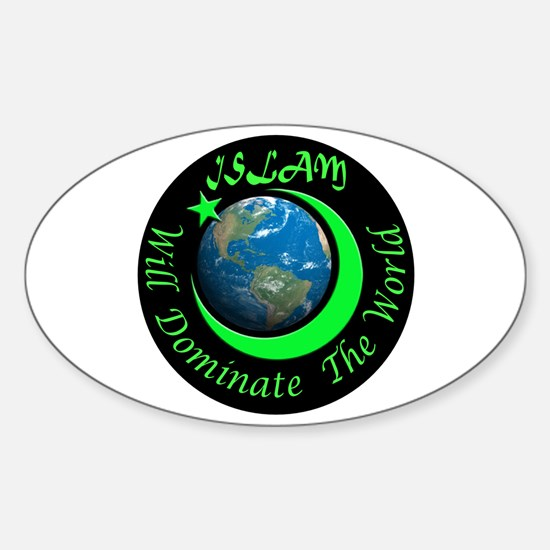 ISLAMIC FUTURE Sticker (Oval)