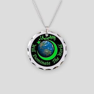 ISLAMIC FUTURE Necklace Circle Charm