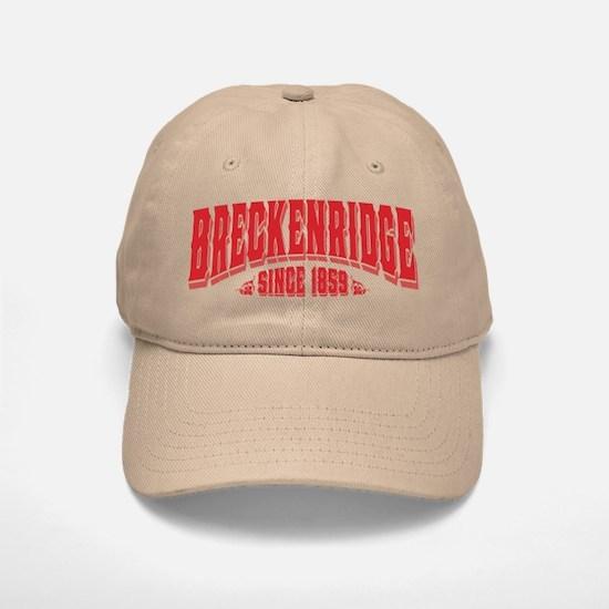 Breckenridge Since 1859 Black Baseball Baseball Cap