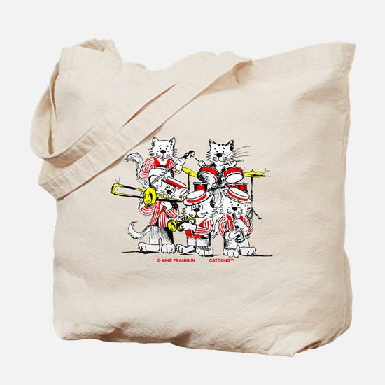 The Jazz Cats Tote Bag