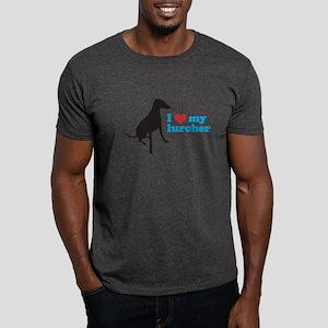 I Love My Lurcher Dark T-Shirt