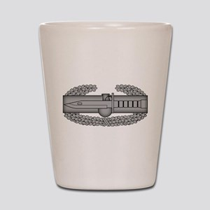 Combat Action Badge Shot Glass