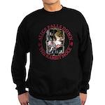 Alice Falls Down the Rabbit Hole Sweatshirt (dark)