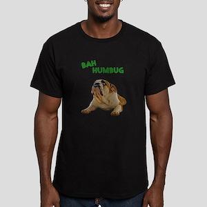 Scrooge Bulldog Men's Fitted T-Shirt (dark)