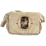 Alice Falls Down the Rabbit Hole Messenger Bag