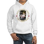 Alice Falls Down the Rabbit Hole Hooded Sweatshirt