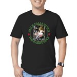 Alice Falls Down the Rabbit Hole Men's Fitted T-Sh