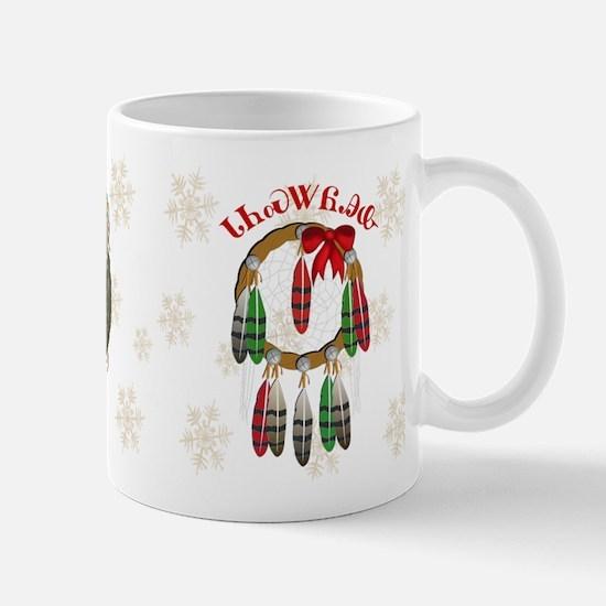 Cherokee Christmas Dream Catcher Mug