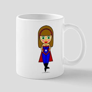 Super Hero Girl 11 oz Ceramic Mug