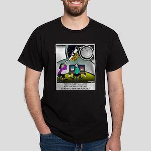 Meteor Craters or Potholes? Dark T-Shirt