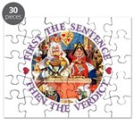 First The Sentence, Then the Verdict Puzzle