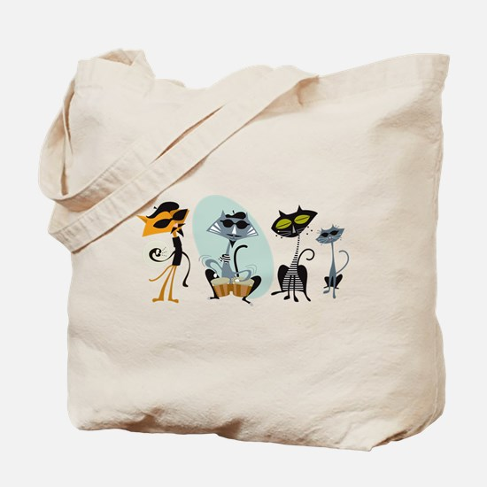 Cool Cats and Kits Tote Bag