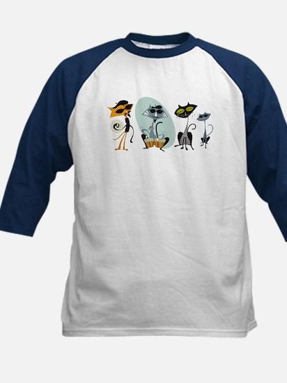 Cool Cats and Kits Kids Baseball Jersey