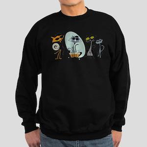 Cool Cats and Kits Sweatshirt (dark)
