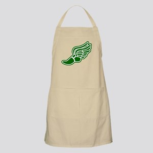 Green Winged Track Foot Apron