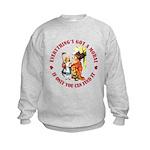 Everything's Got a Moral Kids Sweatshirt