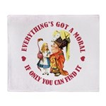 Everything's Got a Moral Throw Blanket