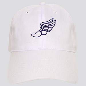 Purple Winged Track Foot Cap