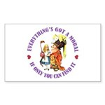 Everything's Got a Moral Sticker (Rectangle 50 pk)