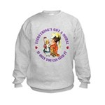 Everything's Got a Moral Kids Sweatshirt